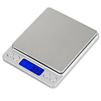 Portable 500g x 0.01g Mini Digital Scale Jewelry Pocket Balance Weight Gram