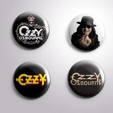 4 OZZY OSBOURNE -  Pinbacks Badge Button 25mm 1''..