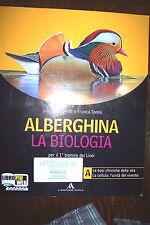 ALBERGHINA LA BIOLOGIA vol. A ed. Mondadori scuola 2010 basi della vita cellula