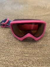 Kids Pink Giro Ski Goggles