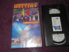 Scotland's Destiny video vhs tape celebration of the opening Scottish Parliament