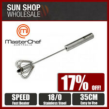 100% Genuine! MasterChef 35cm Stainless Steel Speed Beater! RRP $29.95!
