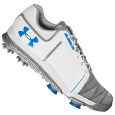 NEW Women's Under Armour UA Tempo Sport Golf Shoes White/Blue/Steel-Pick Size