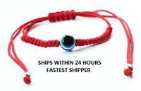 Evil Eye Red String Kabbalah Bracelet Nazar Mati Bead Good Luck -SHIPS IN 24 HRS