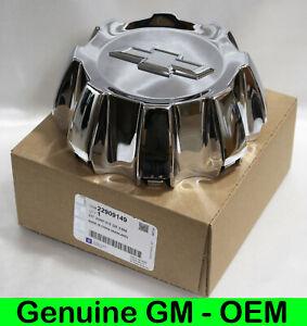 NEW Chevrolet Silverado 2500 3500 CHROME Factory OEM GM Center Cap 22909149 5709