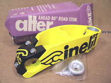 New-Old-Stock Cinelli Alter Stem..Team Once Yellow/Black (130 mm x 26.0 mm)