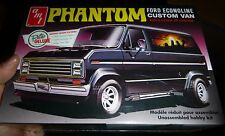 AMT Phantom Ford Econoline Custom Van 2n1 1/25 Model Car Mountain KIT 767 FS