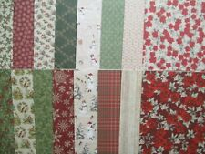 "Perfect Christmas 8x8""  Scrapbook Backing Papers 16 sheets traditional"