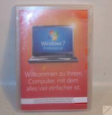 Windows 7 Professional Deutsch 32Bit KEIN KEY W7 Hologramm-DVD Buch original _ka
