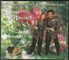 WIETEKE VAN DORT & AIS LAWA LATA Silver Moments CD SIGNED TANTE LIEN