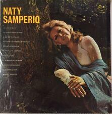 NATY SAMPERIO -ACOMPAÑADA POR EL MARIACHI TENOCHTITLAN- AUTOGRAPHED MEXICAN LP