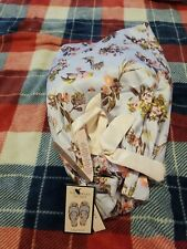 Nwt Womens Victoria Secret Satin Floral Slippers Size 9/10