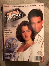 TV Zone 1996 No 76 X files Star trek voyager Babylon 5  Dr Who  THE GEMINI MAN