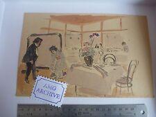 Período de Japón obras de arte originales Slade artista Harold Duque Collison-Morley Kanaya