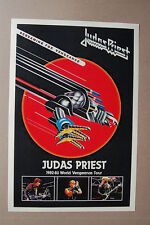 Judas Priest Concert Tour Poster World Tour 1982 - 1983