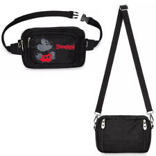 Disney Store Mickey Mouse Convertible Hip Pack Fanny Pack Crossbody Bag