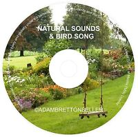 NATURAL SOUNDS BIRD SONG CD -  RELAXATION & SLEEP AID CALMING MEDITATION