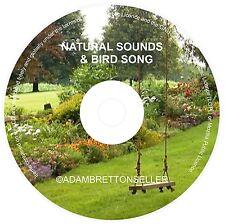 NATURAL SOUNDS + BIRD SONG CD -  RELAXATION & SLEEP AID CALMING MEDITATION