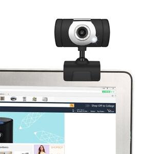 HD Webcam Camera USB 2.0 Web Cam w/Microphone For Computer PC Laptop Desktop UK