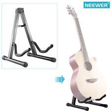 Neewer Black Portable Adjustable A-Frame Electric Guitar Floor Stand Holder
