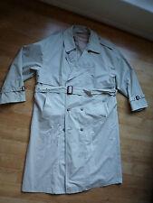 Woman Clothes Long Coat / Jacket waist belted Beige Colour Size 48