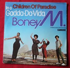 Boney M, children of paradise / in a gadda-da-vida, SP - 45 tours