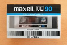 Audio Cassette Maxell UL 90 Vintage