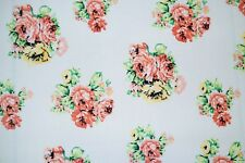 Brushed Floral ITY Print #293 Stretch Polyester Lycra Spandex Fabric BTY
