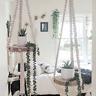 Macrame Plant Hanger Shelf - Handmade | Macrame Hanging Shelf