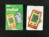 Bandai Sears Electronic Football Handheld Game in Box
