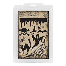 Tim Holtz® Idea-Ology® HALLOWEEN Cling Foam Stamps TH93617 🎃 NEW