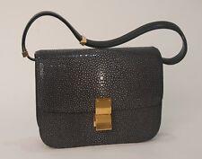 Rare Limited CÉLINE STINGRAY Exotic Classic Medium Box Bag MINT PRISTINE Handbag
