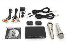 Karaoke Set inkl. 2 Mikrofonen Karaoke DVD und den benötigten Kabeln