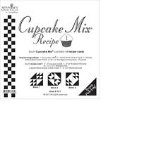 Cupcake Mix Recipe #1 foundation paper by Miss Rosie's Quilt Co for Moda