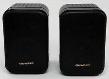 """Genexxa Bookshelf Speakers Stereo Loudspeakers 4"""" Woofer 2"""" Tweeter 30W 8 Ohms"""