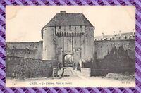 CPA 14 - CAEN - le chateau, porte de secours
