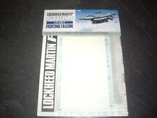 TAMIYA DECALS LOCKHEED MARTIN F-16 CJ BLOCK 50 FIGHTING FALCON  REF 61098 1/48