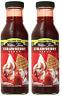 2 X Walden Farms Strawberry Syrup Zero Calorie & Carbs 12oz Rich Natural Flavor
