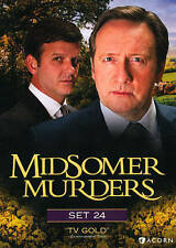 Midsomer Murders Set 24 DVD New Sealed 3-Discs Free Shipping