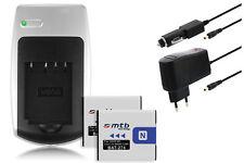 2xBaterìa+Cargador NP-BN1 NPBN1 para Sony Cyber-Shot DSC-W570, W580, WX5, WX7