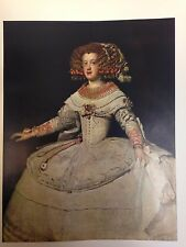 The Infanta Maria Teresa (MINI PRINT) By  Diego Velazquez