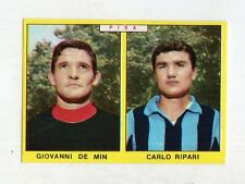 figurina - CALCIATORI PANINI 1966/67 - PISA DE MIN, RIPARI