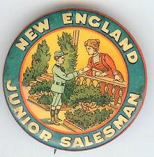 Beautiful Vintage NEW ENGLAND Junior Salesman Pin!