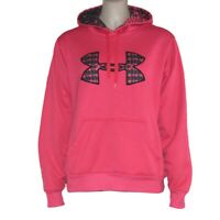Under Armor Women's Pink Pullover Hoodie Size Small