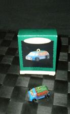 """1996 Hallmark Keepsake Tin Miniature Ornament """"On The Road"""" #4 In The Series"""