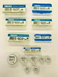 Presto Metric Taps First, Second or Plug, Complete Tap Sets, Dies (3mm - 12mm)