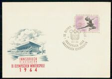 Mayfairstamps Austria Fdc 1964 Cover Winter Olympics Figure Skating wwk30091