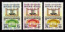 IRAQ 1976 Centenary Of First Telephone Call Graham Bell Scott No. 771 - 773 MNH
