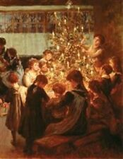 Victorian Trading Co The Christmas Tree Albert Chevallier Tayler Print New