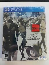 New listing Persona 5 SteelBook Launch Edition (PlayStation 4) Ps4 New Sealed Atlus Games